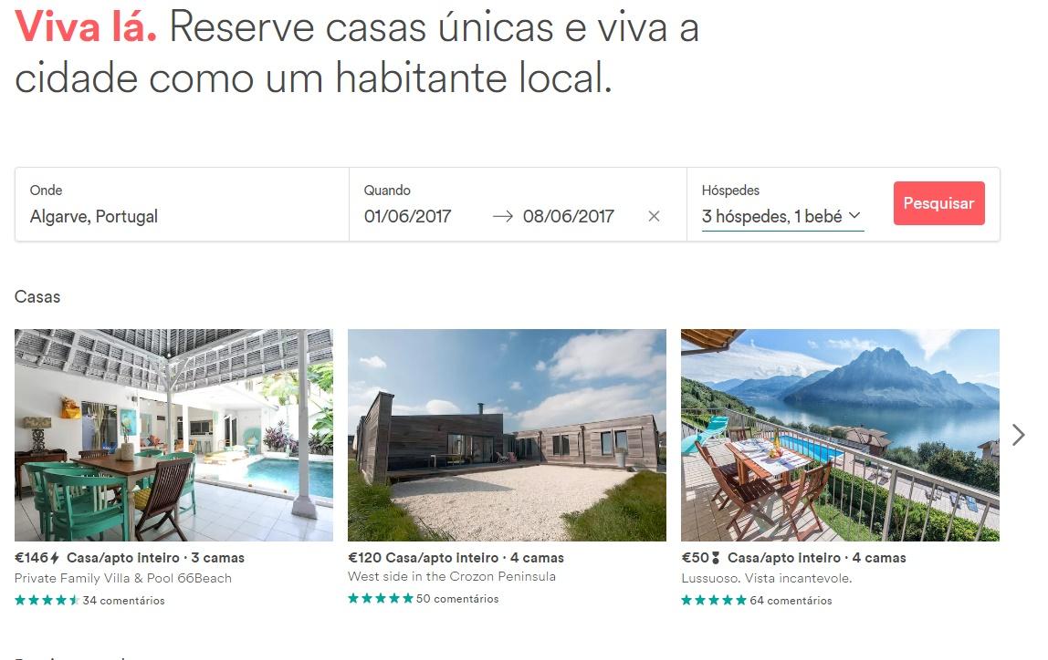 Airbnb - Morar em Portugal