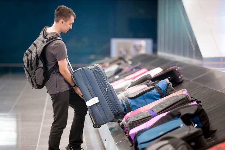Cobrança por bagagem despachada