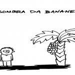 a sombra da bananeira